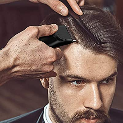 Liberex Cordless Electric Hair Clippers - Professional Rechargeable Hair Cutting Machine for Men Women Kids Baby, Barber Grooming Cutter Kit, Beard Body Trimmer Set, 20 Length, Wireless Charging