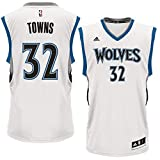 Adidas Youth Karl-Anthony Towns Minnesota Timberwolves White Replica Jersey