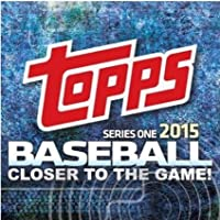 2015 Topps Baseball 400 Assorted Card Gift Lot in a brand new 400ct box (Partial set) - inc Rookies and Stars + A BONUS 2015 Topps update Pack (Look for Autographs, Kris Bryant, Correa, + Relic Cards)