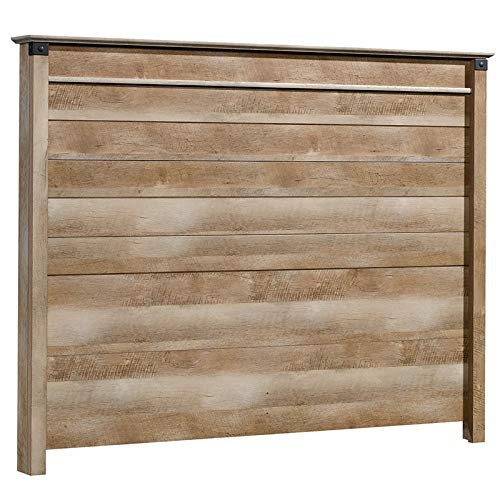 Sauder 423034 Carson Forge Panel Headboard, Full/queen, Lintel Oak finish by Sauder