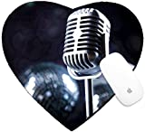 Best Microphones For Ball Gamings - Luxlady Mousepad Heart Shaped Mouse Pads/Mat design IMAGE Review