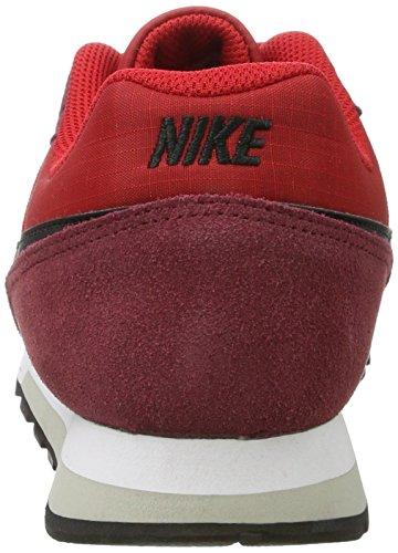 Nike Men's Nike Md Runner 2 Shoe, Zapatillas Deportivas para Interior para Hombre Multicolor (University Red/black-team Red-pale Grey)