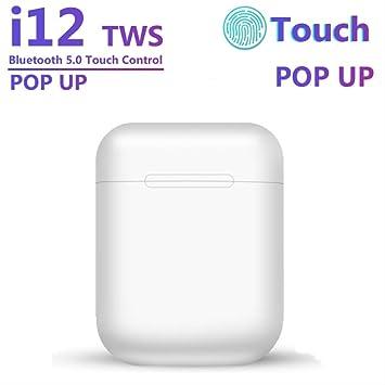Auriculares inalámbricos Bluetooth originales I12 Tws 5.0 para ...
