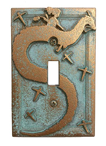 Spirited Away - Light Switch Cover (Aged Patina)