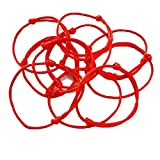 Women's Red String Lucky Sacred Bracelet Kabala Charm Bangle Pack of 10