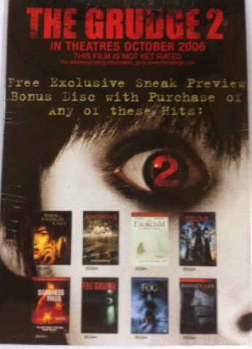 The Grudge 2/ Exclusive Sneak Prieview Bonus Disk
