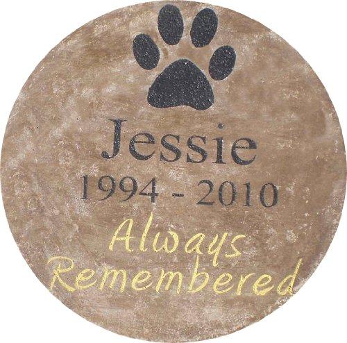 Pet Memorial Step Stone 11