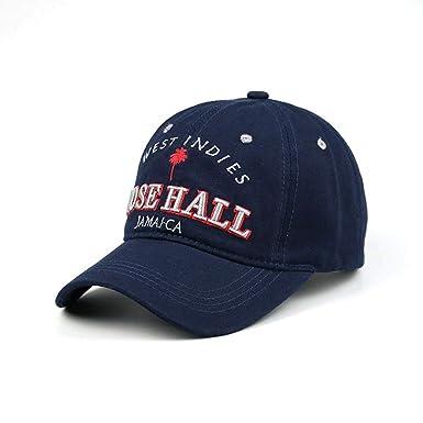 Amazon.com: Gorra de béisbol de algodón bordado lavado para ...