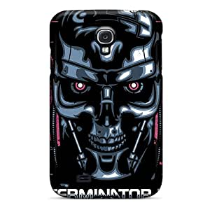 Scratch Resistant Hard Cell-phone Cases For Samsung Galaxy S4 (WVu21080HrAa) Customized Realistic Terminator 2 Pattern