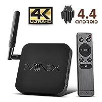 Minix NEO X8 Plus Android 4.4 Smart TV Box XBMC/KODI Mini PC Streaming Media Player Amlogic S802-H Quad Core Cortex-A9r4 Processor 2GB Ram16GB eMMC (US Power Supply)