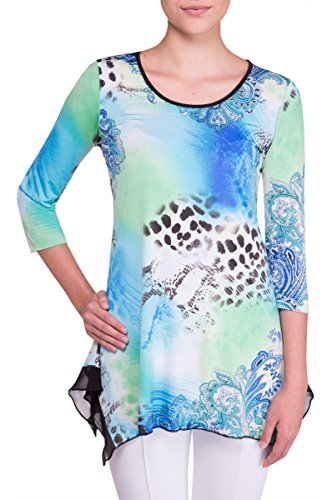 Nygard 3/4 Sleeve Blouse - NYGÅRD SLIMS 3/4 Sleeve Tunic AnimlPaisley L
