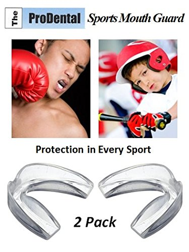 upc 784672810333 product image for ProDental Sports Mouth Guards from (2 Pack)- No BPA Soft Material, Made in USA - Customizable for Comfort - Fits Any Size Mouth Age 12+ - Athletic Teeth Mouth Guards Designed for Maximum Protection
