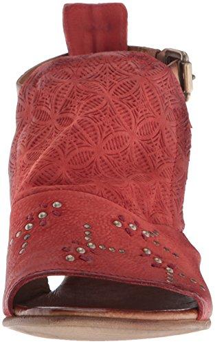 Miz Heeled Tomato Carey Mooz Sandal Women's rfwSn6qxr