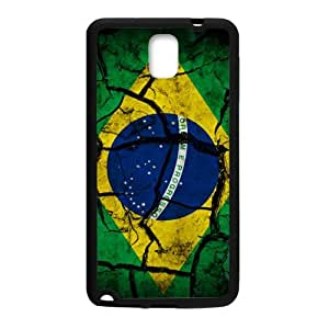 Flag of Brazil Phone Case for Samsung Galaxy Note3 Case
