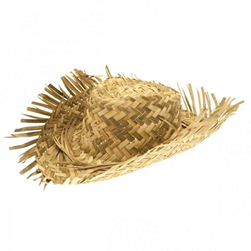 Men's Straw Beachcomber Hat]()