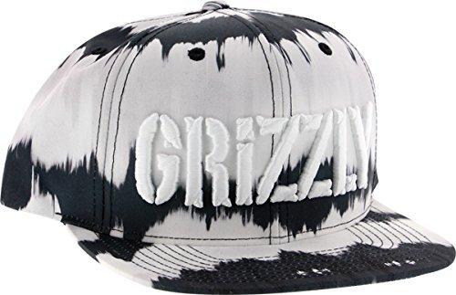 Grizzly Griptape GRIZZLY TIE DYE STAMP HAT SNAPBACK-BLACK TIE DYE