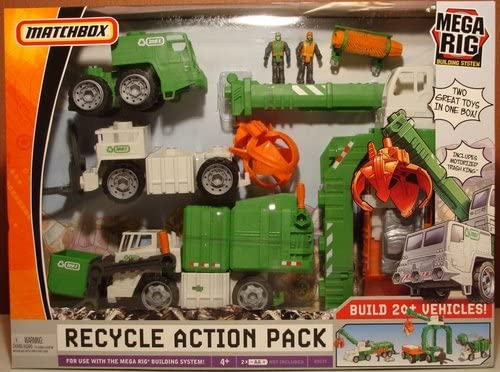 Matchbox Mega Rig Recycle Action Pack Building System