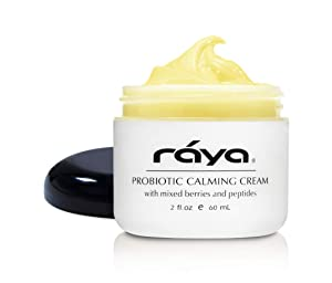 RAYA Probiotic Calming Cream (309) | Moisturizing, Anti-Aging, and Calming Face Cream for Sensitive, Irritated, and Mature Skin | Soothes Over-Reactive Skin and Helps Reduce Fine Lines and Wrinkles