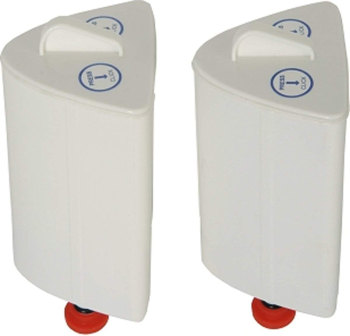 Tefal Moulinex XD9030E0 - Cartucho antical para centros de planchado, adecuado para el generador de vapor Purely und Simply SV50, Paquete de 2