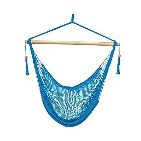 Bliss Hammocks BHC-412OR Island Rope Hammock Chair, Orange