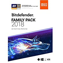 Bitdefender Family Pack 2018 | Unlimited Devices, 2 Year