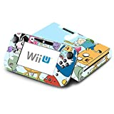 Adventure Time Jake Finn Fionna Marceline Ice King Decorative Decal Cover Skin for Nintendo Wii U Console and GamePad