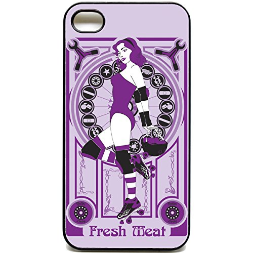 Roller Derby RETRO-TELEFON, Fresh Meat iPhone 4/4S
