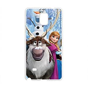 Happy Charming Frozen girl Cell Phone Case for Samsung Galaxy Note4