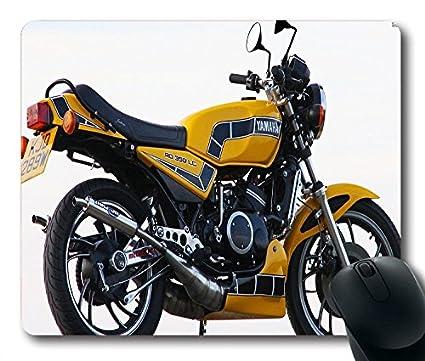 Motos Jaune Yamaha Rd350lc 53293 Ordinateur Tapis De Souris De