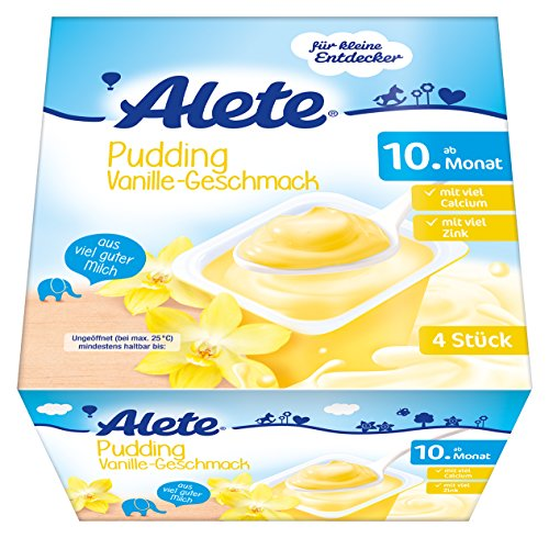 Alete Pudding Vanille-Geschmack, 6er Pack (6 x 400 g)