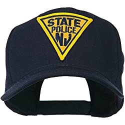 defbbb6aad3 New Jersey State Police Patched High Profile Cap - Navy OSFM. amazon.com