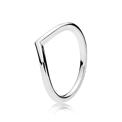 1942fca4b Amazon.com: PANDORA Shining Wish Ring 196314-52 EU 6 US: Jewelry
