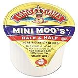 Mini-Moo`s Creamers, Real Dairy Half & Half, 180/Carton