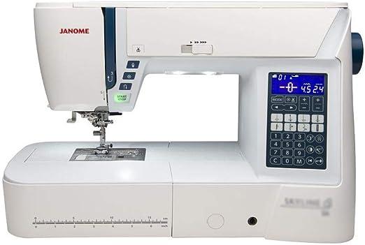 Janome Atelier 6 máquinas de coser computarizadas: Amazon.es ...