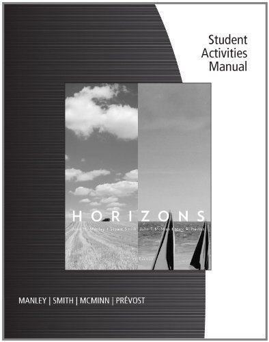 Student Activities Manual for...