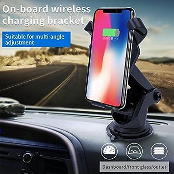 iPhone X/8 inalámbrica Qi cargador de coche, maxipro® Soporte de ...