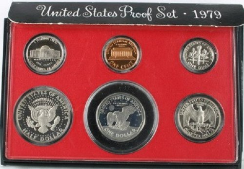 - 1979 S US MINT TYPE II PROOF COIN SET TY 2