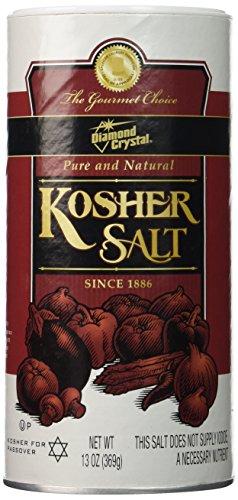 Diamond Crystal Kosher Salt-13 oz (Pack of 2) (Diamond Crystal Salt compare prices)