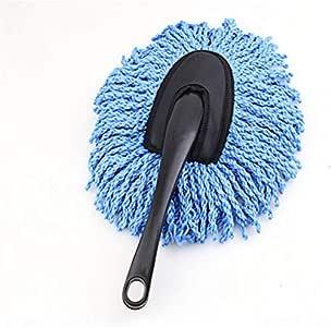 فرشاة متعددة الوظائف لتنظيف الغبار والأوساخ من السيارة أداة إزالة الأتربة، أزرق