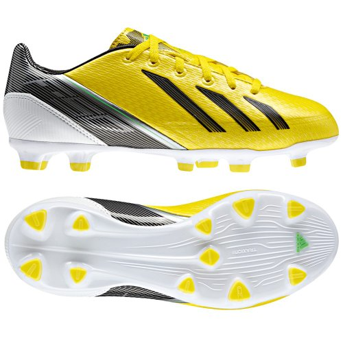 adidas F30 TRX FG Kinder Fussballschuhe, Gelb, Größe 38