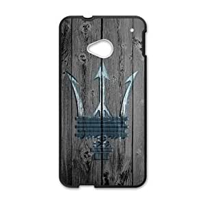 Personalized Durable Cases HTC One M7 Cell Phone Case Black Maserati Fexak Protection Cover