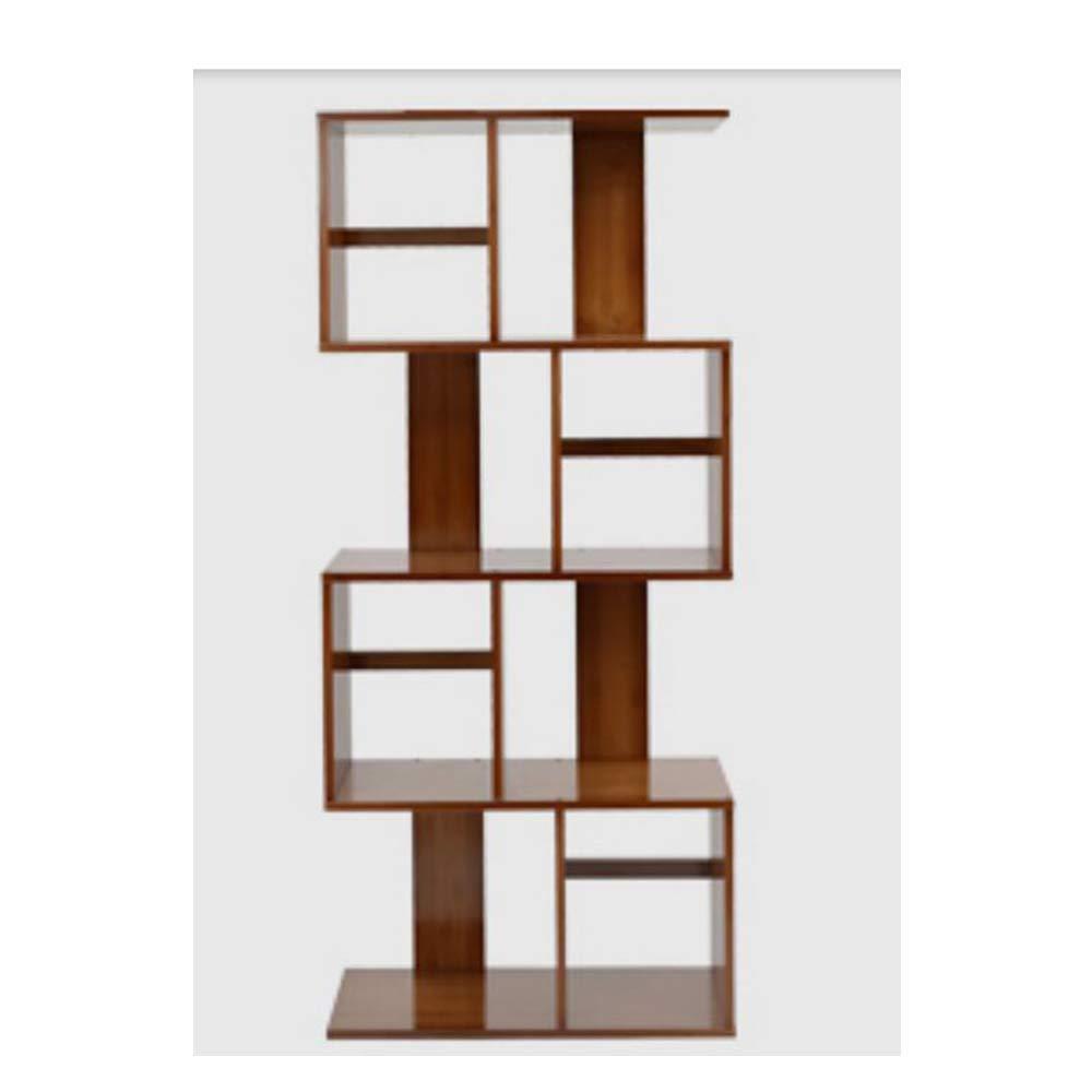 (Fourth floor)602405135cm DYR Bamboo Shelf S Shape Storage Unit Chest Bookshelf Cabinet Cabinet Cabinet Home Office Furniture (Dimensions  (Second Floor) 60  24.5  68.5 cm)