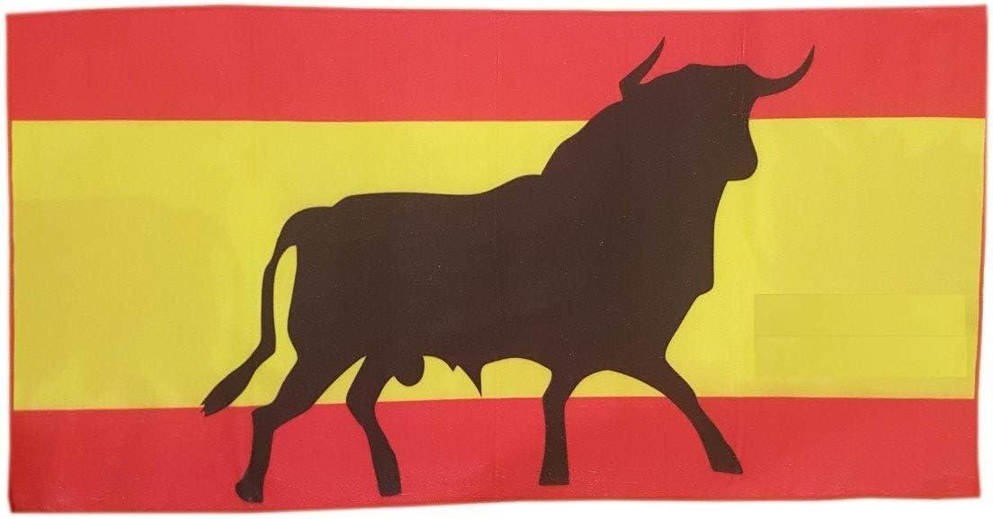 Spain Toalla de Baño Playa Piscina Bandera ESPAÑA Toro Osborne 150 ...