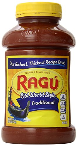 (Ragu America's Favorite Pasta Sauce Traditional America's Favorite Pasta, 45oz 3 Count)