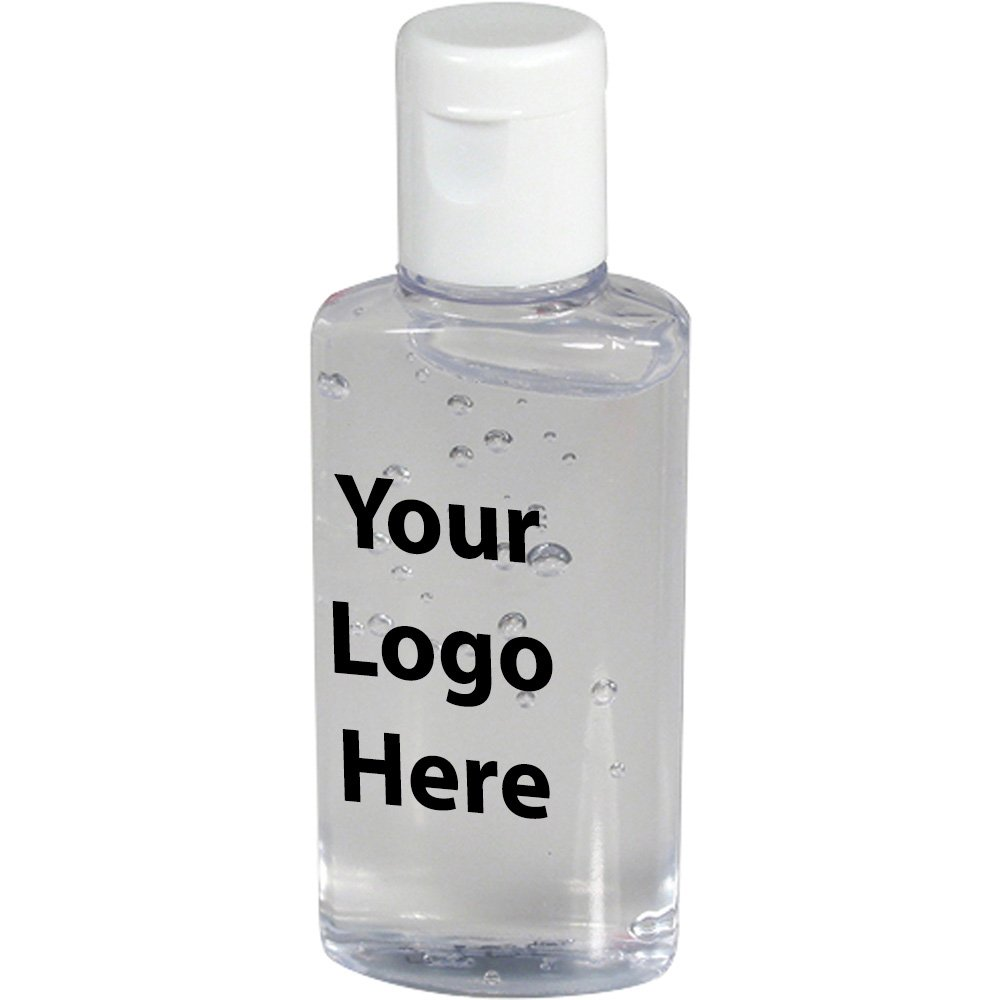 1 Oz. Gel Hand Sanitizer - 100 Quantity - $1.05 Each - PROMOTIONAL PRODUCT / BULK / BRANDED with YOUR LOGO / CUSTOMIZED