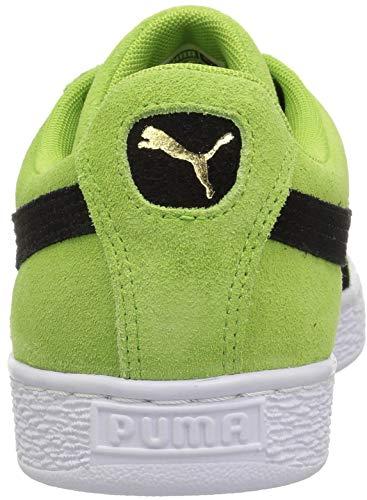 Hommes Daim Puma Greenery Chaussures Pour Gold puma En Team Black puma Classiques CqwXFwg