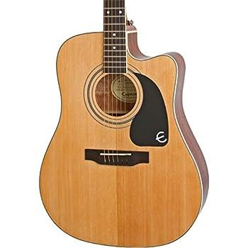 epiphone aj 100ce cutaway acoustic electric guitar musical instruments. Black Bedroom Furniture Sets. Home Design Ideas