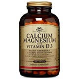 Solgar Calcium Magnesium with Vitamin D3 Tablets, 300 Count