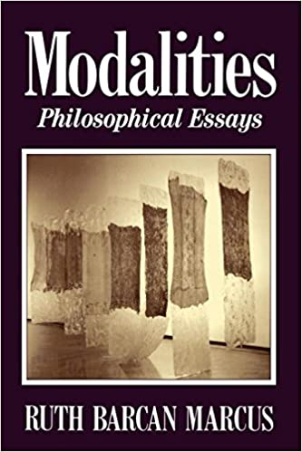 Amazoncom Modalities Philosophical Essays  Ruth  Modalities Philosophical Essays Sample Business Essay also Topics For English Essays  Example Proposal Essay