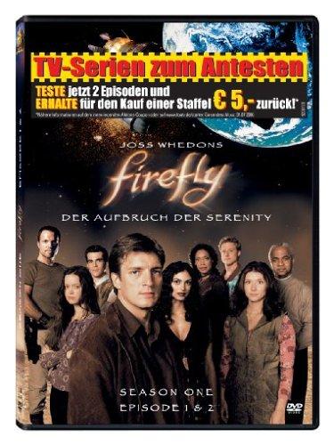(Firefly - Der Aufbruch der Serenity, Season One, Episode 1 & 2 (Import Movie) (European Format - Zone)
